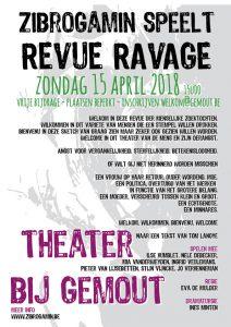 Zibrogamin speelt Revue Ravage @ Gemeentehuis Outgaarden | Hoegaarden | Vlaanderen | België