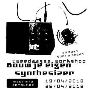 """Workshop """"Bouw je eigen synthesizer"""" @ Gemeentehuis Outgaarden   Hoegaarden   Vlaanderen   België"""